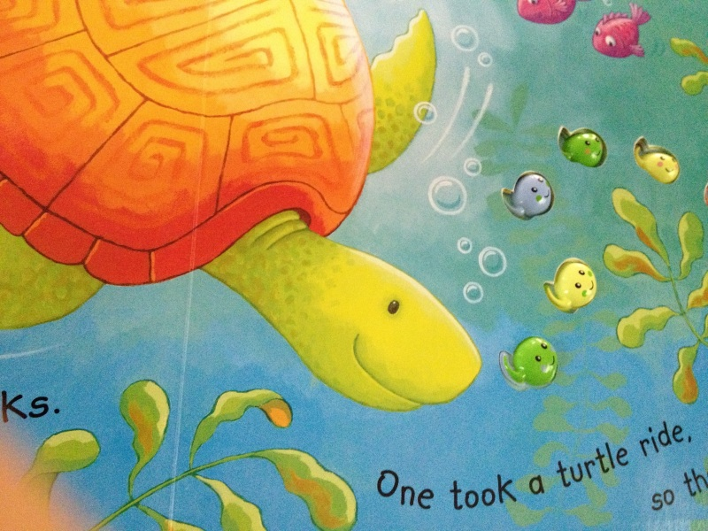 tadpole book page